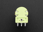Back of panel mount 10K potentiometer with on-off switch.