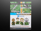 Screaming circuits. Your board builder when you switch from maker to manufacturer. Cartoon illustrations of three humans and a robot holding green microcontrollers. Proudly sponsoring the screaming makers. having fun while you design better boards.