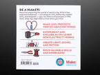 "Back cover of ""Electricity for Young Makers: Fun & Easy Do-It-Yourself Projects"""