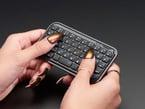 Mini Bluetooth Keyboard – Black colored