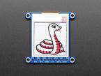 "Adafruit 1.5"" Red/Black/White eInk Display Breakout"