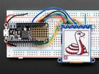 E-Ink display wired to Arduino
