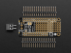Power monitor feather wing kit with headers and PCB