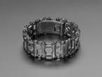 Leatherman Tread - black steel multitool bracelet