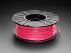 Spool of PLA filament for 3D printers - magenta color with 2.85mm Diameter.