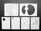 collection of paper templates for the lamp projects