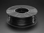 Spool of PLA filament for 3D printers - black color with 2.85mm Diameter.