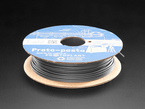 Spool of Proto-Pasta Magnetic rustable iron filament for 3D Printers, grey color with 2.85mm Diameter
