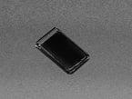 Closed image of a black webcam sticker cover.