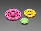 Paddle Wheel three Pack for TT Gearbox Motor