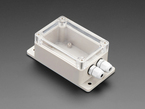 Flanged Weatherproof Enclosure With PG-7 Cable Glands
