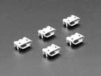 Pack of 5 Micro B USB Jack Connectors