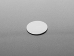 Angle shot of white disk