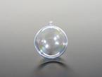 Clear ornament ball