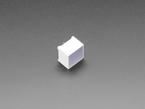 Angle shot of large square LED