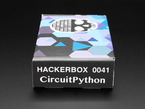 Profile of HackerBox #0041 outer packaging