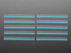 Break-away 0.1 inch 36-pin strip male header - Blue plastic