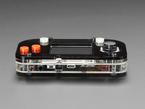 Top of Assembled Adafruit PyGamer in Acrylic Enclosure Kit