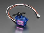Micro Servo with 3-pin JST Cable - STEMMA Connector Compatible