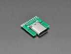 USB Type C Socket - SMT Inline Breakout Board