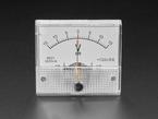 Small -15 to +15V DC Analog Panel Meter