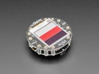 Gizmo attached to Circuit Playground with Tri Color bar display