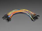 Premium Silicone Covered Female-Female Jumper Wires - 200mm x 40