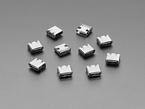 Pack of 10 USB Type C SMT / THM Jack Connectors