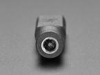 Close up of 2.1mm Barrel Jack connector end