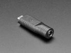 2.1mm 5V DC Barrel Jack to USB C Adapter