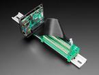 DIN Rail Mount Bracket for Raspberry Pi,  BeagleBone or Arduino. With Raspberry Pi installed