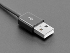 Close Shot of the USB-A connector end