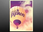 CircuitPython 6 release Poster featuring Hot air balloon