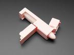 Pink stick pointer shown laying flat