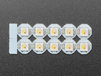 Pack of 10 RGBW NeoPixel Mini Button PCBs