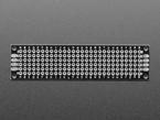 Top view of Universal Proto-board PCBs 2cm x 8cm