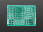 Top view of Universal Proto-Board PCBs 5cm x 7cm..