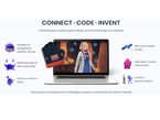 """Screenshot of Doctor Who """"Connect Code Invent"""" software"""