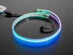 Adafruit NeoPixel 332 LED-per-Meter Silicone Bead LED Strip,  lit up bl;ue