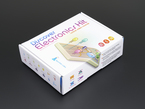 Discover Electronics Kit box with colorful cartoon images of electonics