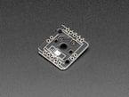 Reverse angled shot of socket breakout PCB.