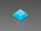 Single shot of 10 pack DSA color keycap Blue KIT
