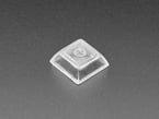 Single shot of Clear DSA Keycaps for MX Compatible Switch
