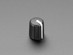 Angled shot of rotary knob.