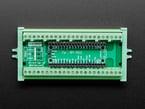 Top view of Terminal Block Breakout Module for Raspberry Pi Pico