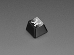 Angled shot of Hackaday R4 keycap.