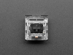 Top of kailh black key switch.