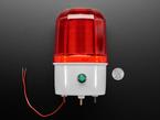 3V~12V adjustable warning light measured by a US quarter