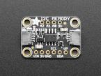 Top view of Adafruit I2C Memory Breakout Board.