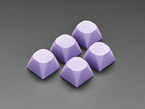 Purple MA Keycaps for MX Compatible Switches - 5 pack